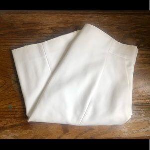 High waisted off white skirt - rarely worn.